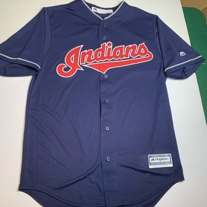 Cleavland Indians majestic cool base jersey